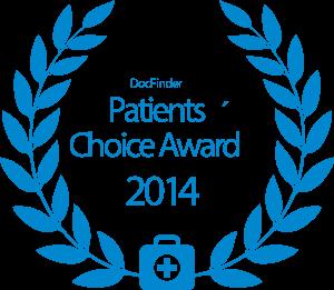 Docfinder Award Chirurgie 2014