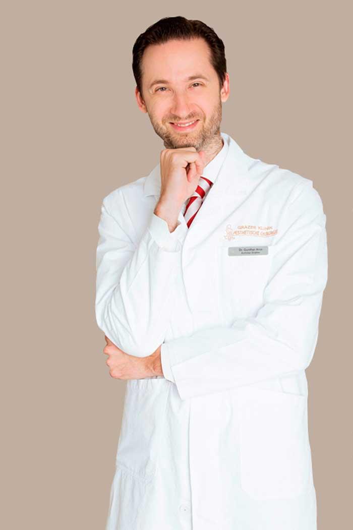 Plastischer Chirurg Dr. med. Gunther Arco in Graz