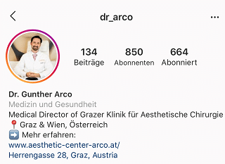 Dr. Arco - Instagram